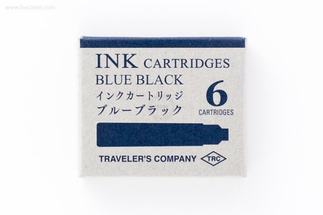 TRC ブラス 万年筆用インクカートリッジ ブルーブラック(38073-006)【ネコポスOK】