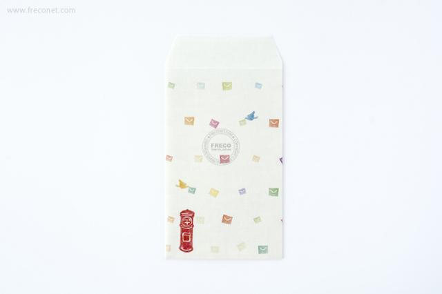 ほのぼのポチ袋 手紙(77-01129-033)【ネコポスOK】