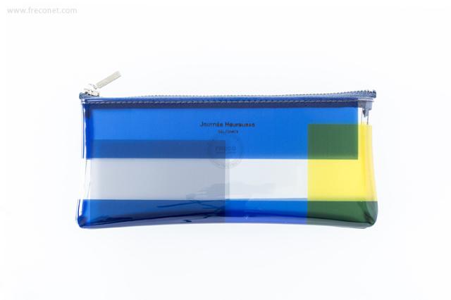 DELFONICS ヴィトロ ペンケース B ブルー(500390-971)【クロネコDM便OK】