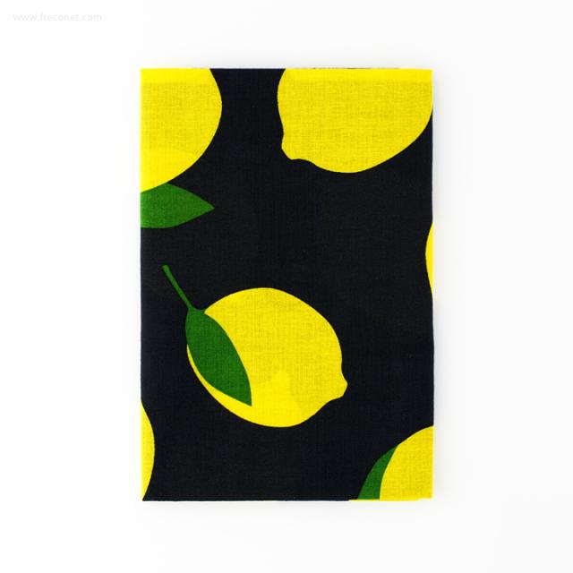 フルーツ手ぬぐい C レモン(500545-972)【ネコポスOK】