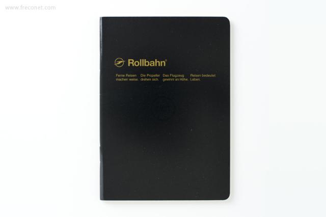 ロルバーン ノート A6 ブラック(500048-105)【ネコポスOK】