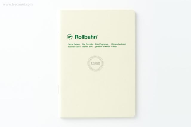 ロルバーン ノート A6 クリーム(500048-200)【ネコポスOK】
