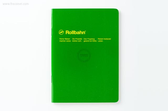 ロルバーン ノート A6 グリーン(500048-284)【ネコポスOK】