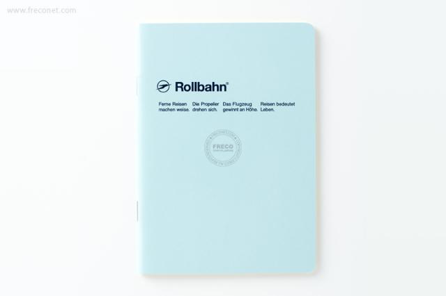 ロルバーン ノート A6 ライトブルー(500048-360)【ネコポスOK】