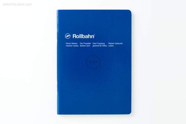 ロルバーン ノート A6 ブルー(500048-424)【ネコポスOK】