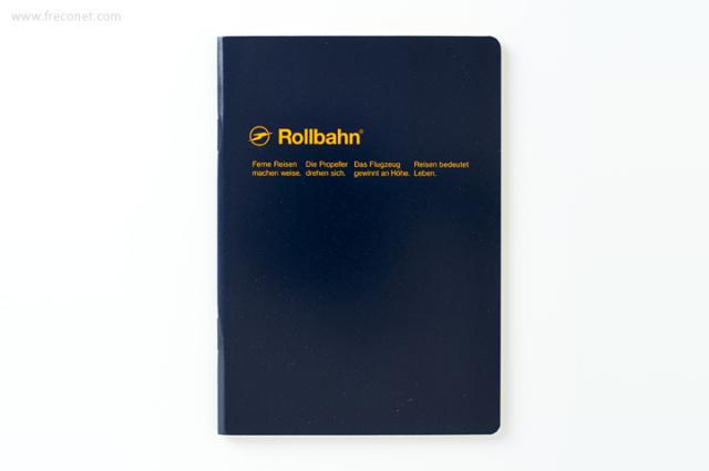 ロルバーン ノート A6 ダークブルー(500048-428)【ネコポスOK】