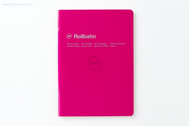 ロルバーン ノート A6 ローズ(500048-524)【ネコポスOK】
