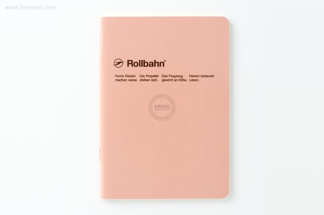 ロルバーン ノート A6 ライトコーラルピンク(500048-561)【ネコポスOK】