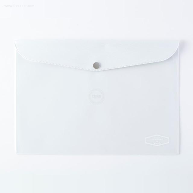 DELFONICS ビニールブリーフケース メタリック B5 ホワイト(500114 100)【ネコポスOK】