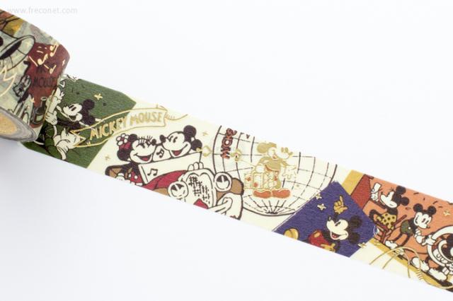 箔押し ディズニーマスキングテープ ミッキー&ミニー【クロネコDM便OK】
