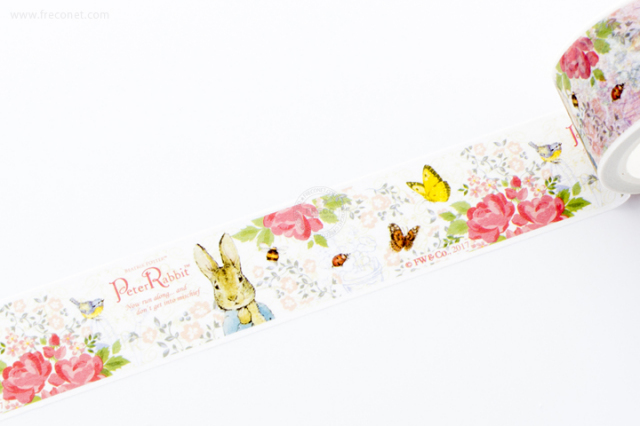 ピーターラビットマスキングテープ フラワー(EPR2)【宅急便配送】
