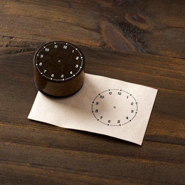 手帳スタンプ 時計(FBC197)【ネコポスOK】
