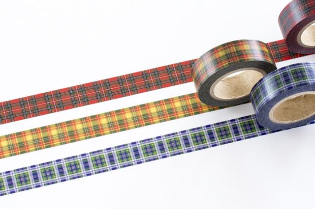 フレコマスキングテープ クラン・タータンおまとめパック(FJT-007~009)【クロネコDM便OK】