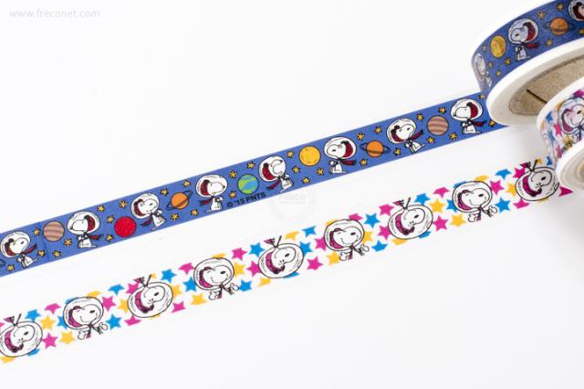 ファミリア スヌーピーマスキングテープ2巻セット スヌーピー【ネコポスOK】