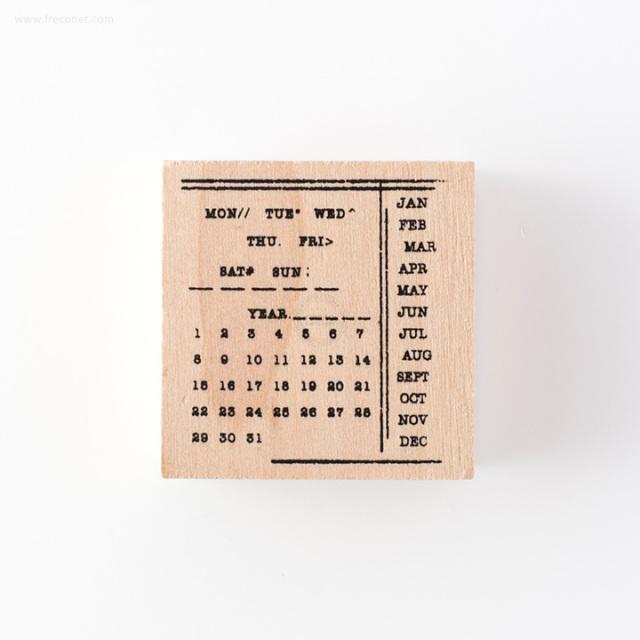 手帳スタンプ カレンダー(FMK0945)【ネコポスOK】