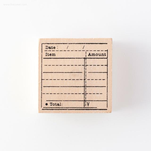 手帳スタンプ 収支記録(FMK0946)【ネコポスOK】