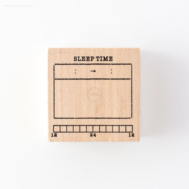 手帳スタンプ 睡眠記録(FMK0948)【ネコポスOK】