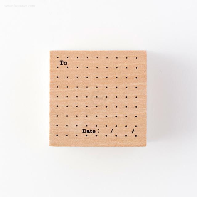 手帳スタンプ メモドット(FMK0949)【ネコポスOK】