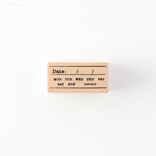 手帳スタンプ デイト(FMK0956)【ネコポスOK】