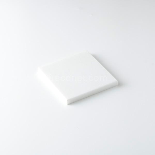 ≪フレコオリジナル≫封蝋シーリングスタンプ 大理石プレート シャインホワイト 100x100mm【宅急便配送】