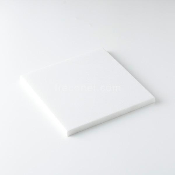 ≪フレコオリジナル≫封蝋シーリングスタンプ 大理石プレート シャインホワイト 150x150mm【宅急便配送】