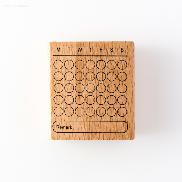 手帳スタンプ 万年カレンダー(FYZ4934)【ネコポスOK】