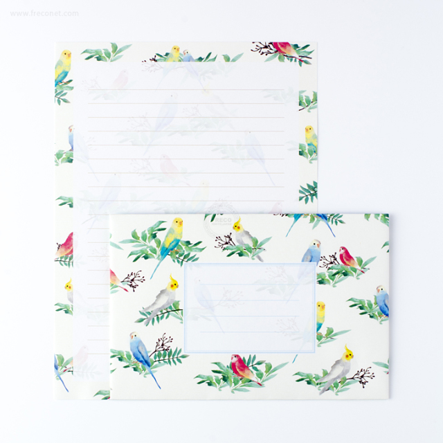 ガーデンレターセット インコ(GALS01-IN)【ネコポスOK】