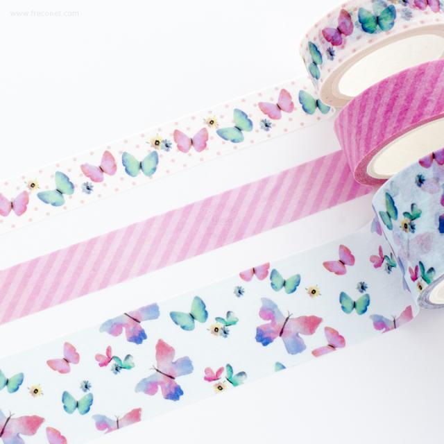 ガーデンマスキングテープ バタフライ(GAMT01-BF)【宅急便配送】