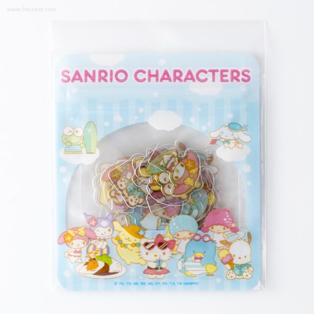 サンリオキャラクターズ 夏シール・クリア【ネコポスOK】
