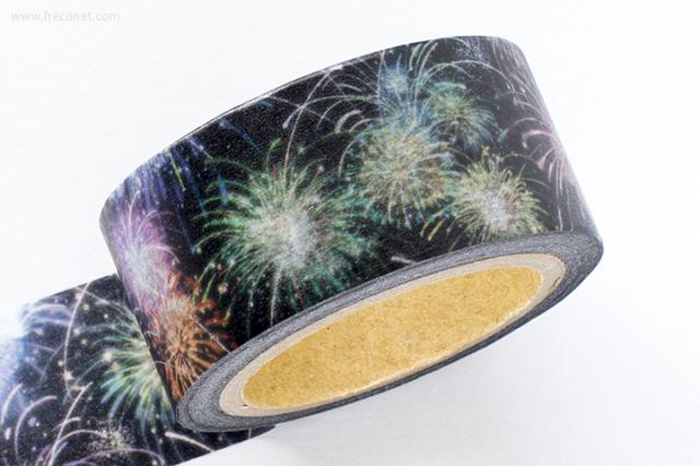 星空百貨マスキングテープ fireworks(HH-FU05)【ネコポスOK】