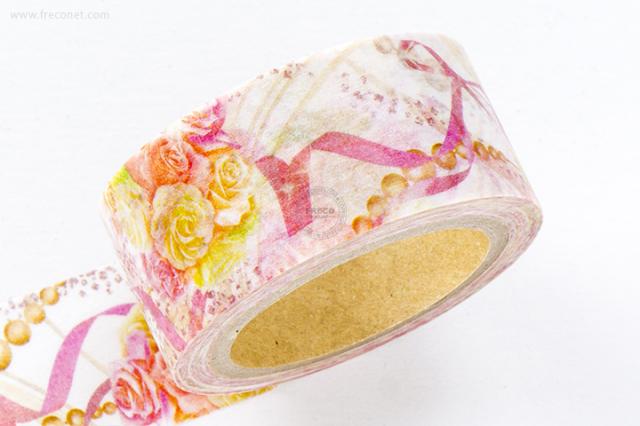 星空百貨マスキングテープ floral wedding(HH-LM01)【クロネコDM便OK】