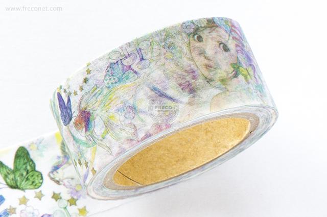 星空百貨マスキングテープ Fairy(HH-NE01)【ネコポスOK】