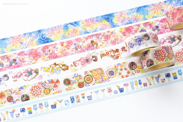 星空百貨マスキングテープ 2nd おまとめパック(HH-YS01~05)【クロネコDM便OK】