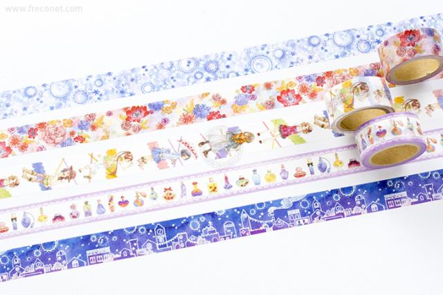 星空百貨マスキングテープ 6th おまとめパック(HH-YS06~10)【クロネコDM便OK】