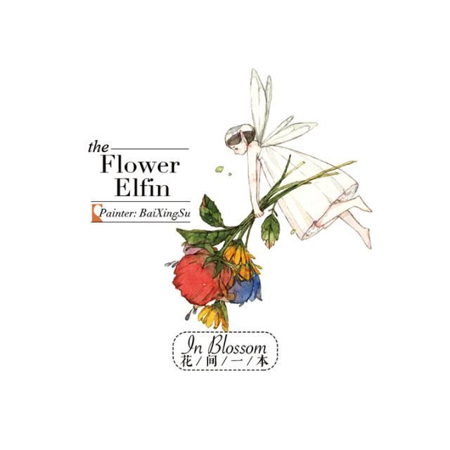 花間一本マスキングテープ Flower Elfin【宅急便配送】