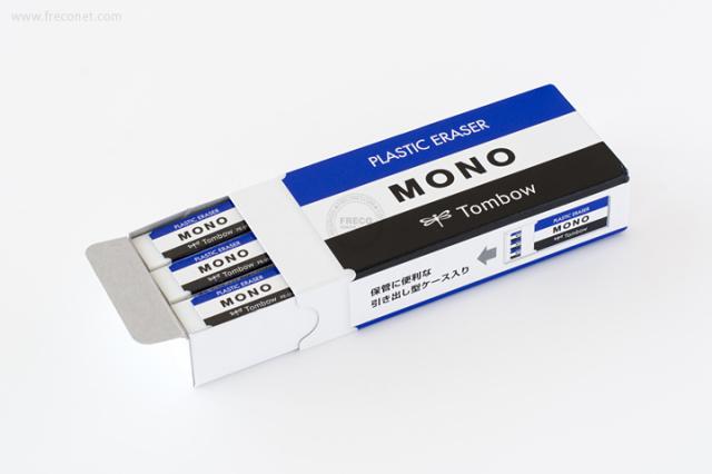 トンボ鉛筆 MONOボックス 18個入り(JHA-061)【ネコポスOK】
