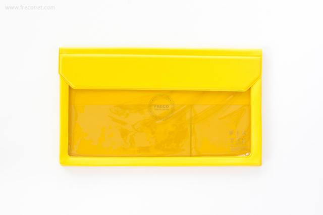 キングジム FLATTY フラッティ 封筒サイズ キイロ(5362)【ネコポスOK】