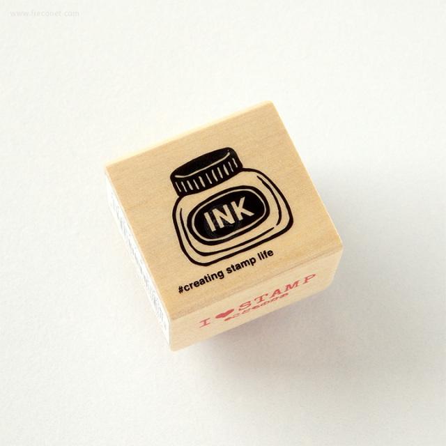 こどものかお 文房具スタンプ インクボトル(C1631-008)【ネコポスOK】