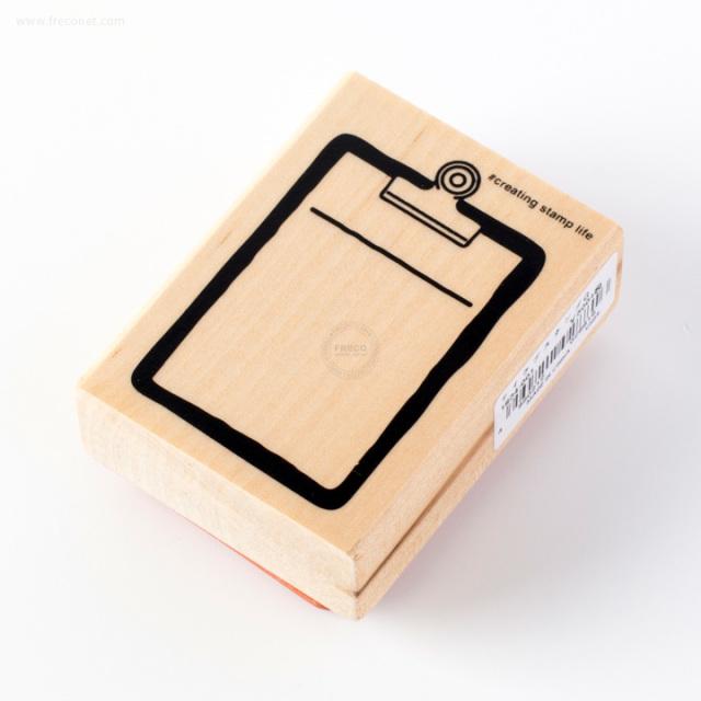 こどものかお 文房具スタンプ クリップボード(G1634-001)【ネコポスOK】
