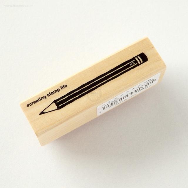 こどものかお 文房具スタンプ 鉛筆(D1640-002)【ネコポスOK】