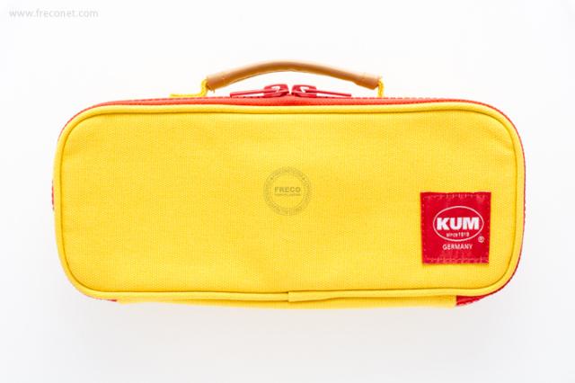 KUM ハンドル付きペンケース イエロー(KM169Y)【宅急便配送】