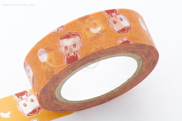 KITERA マスキングテープ フエキ君 風船(KMT-FE2)【ネコポスOK】