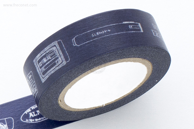 KITERA マスキングテープ シード ブルーイラスト(KMT-SD3)【ネコポスOK】
