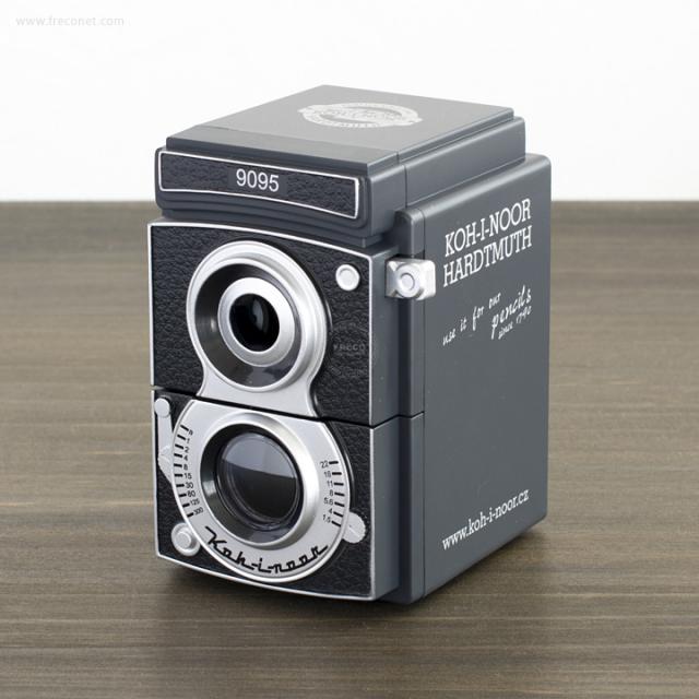 コヒノール カメラ型鉛筆削り 芯先調節機能付き(9095)【宅急便配送】