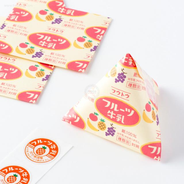 さんかくフウトウ フルーツ牛乳【ネコポスOK】
