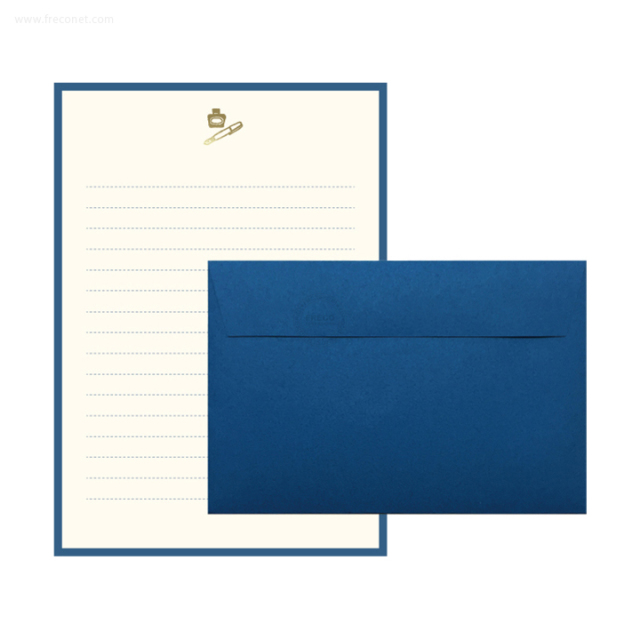 MATOKA ルチア 箔押しレターセット Pen(LCA-002)【ネコポスOK】