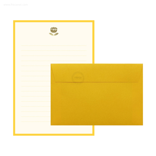 MATOKA ルチア 箔押しレターセット Poppy(LCA-005)【ネコポスOK】