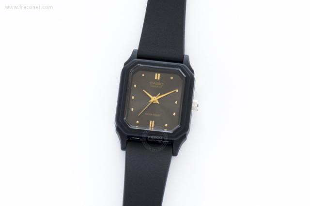 CASIO 腕時計 スクエア スモール アッシュ(LQ-142E-1A)【ネコポスOK】