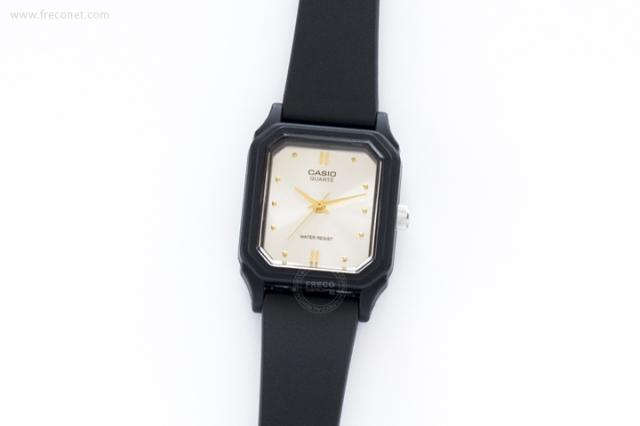 CASIO 腕時計 スクエア スモール シルバー(LQ-142E-7A)【ネコポスOK】