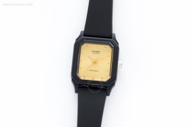 CASIO 腕時計 スクエア スモール ゴールド(LQ-142E-9A)【ネコポスOK】